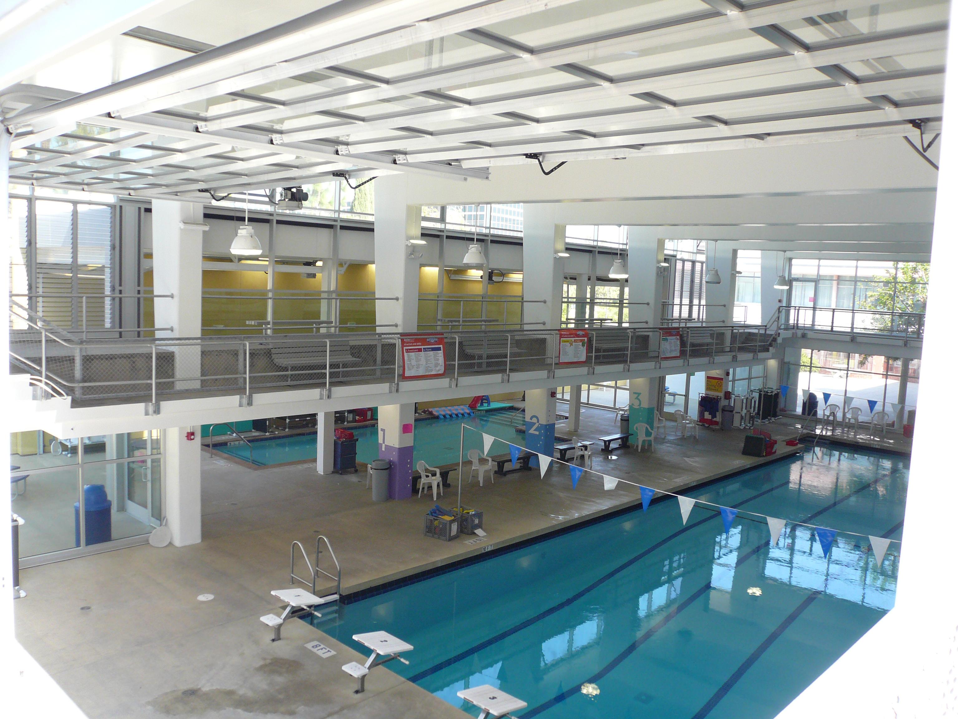 Swimming pool at jcc westside - Salt water swimming pools los angeles ...