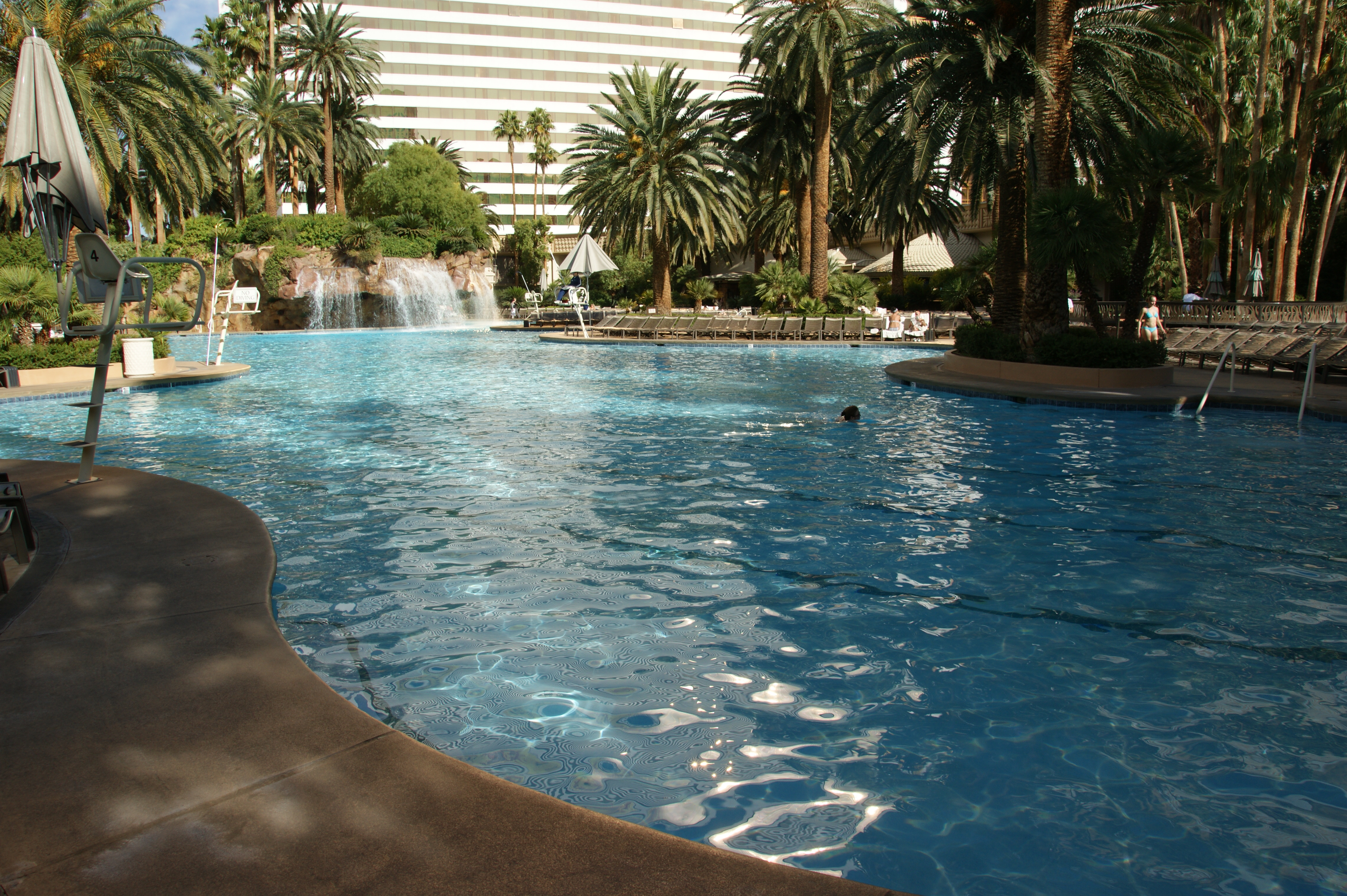 Mirage Hotel Pool Pictures
