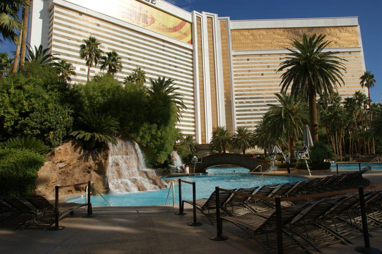 Swimming Pool At The Mirage Las Vegas Nv