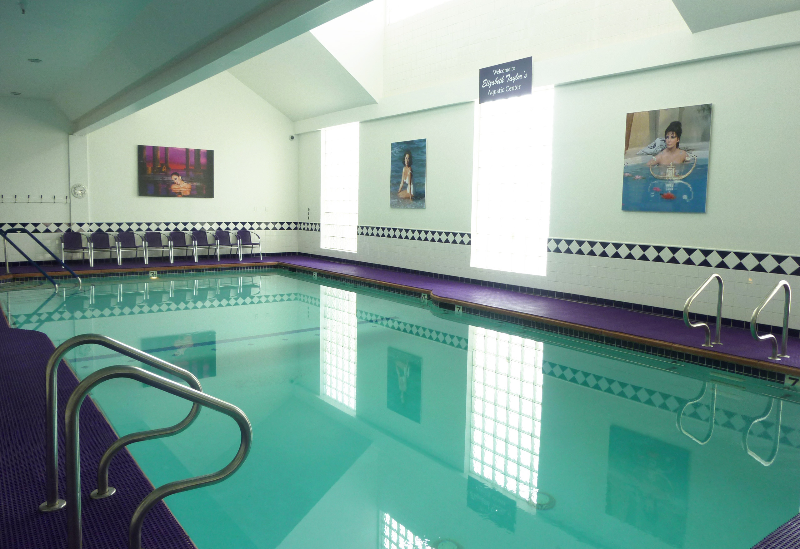 Introducing Elizabeth Taylor S Aquatic Center