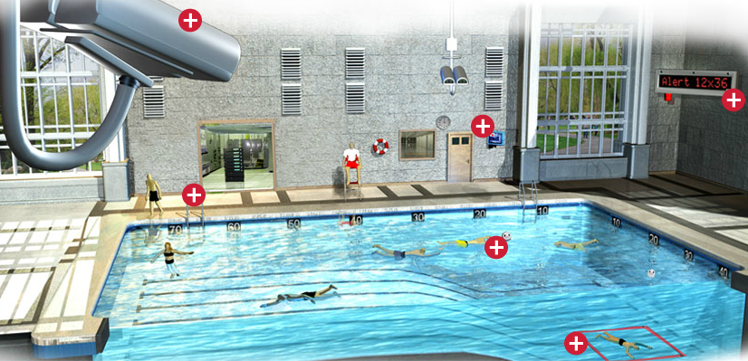 Commercial Swimming Pools Product : Pool safety systems for commercial swimming pools