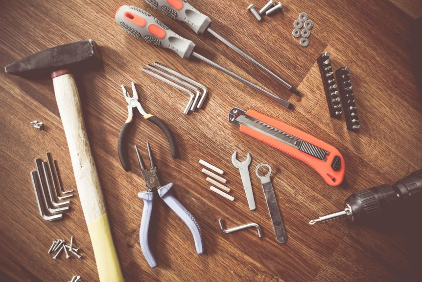 Tools, tool bag
