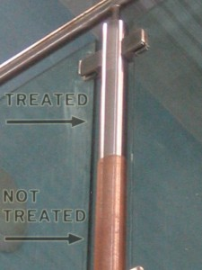 swimming pool rust protection