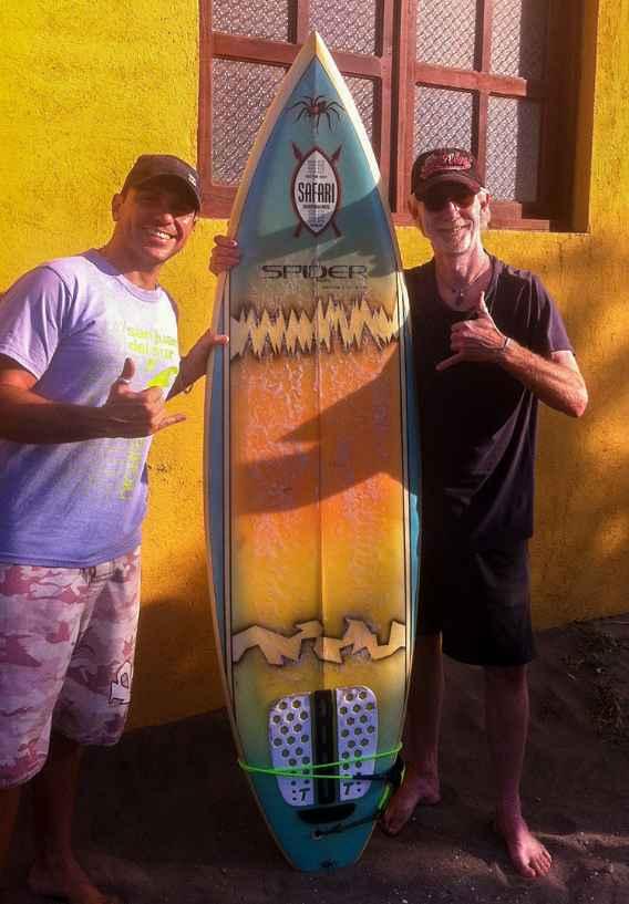TP surfboard