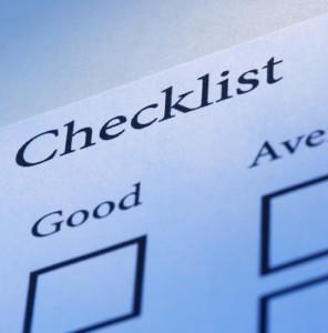 checklist(7)