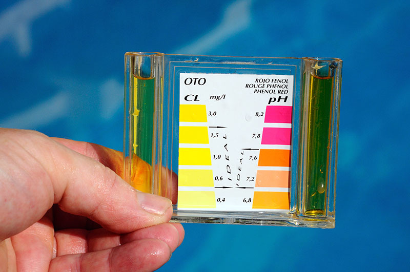 Swimming Pool Water Test